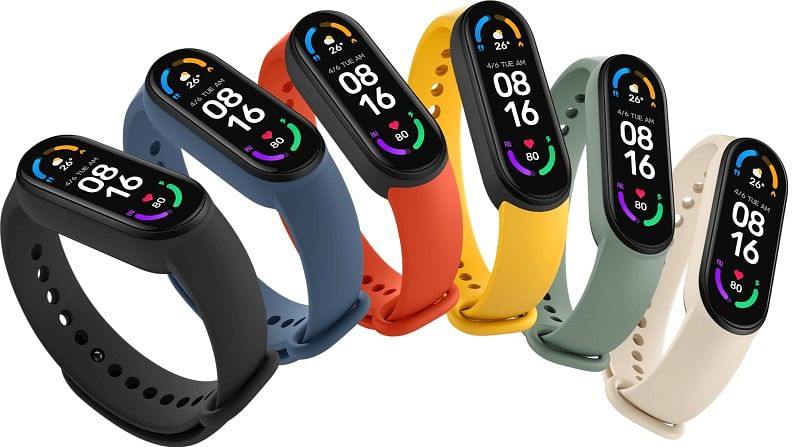 Xiaomi Mi Band 6 on the market with new powerful features, only a few hours left