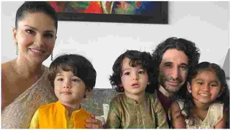 अलीकडेच सनी लिओनीने कुटुंब आणि मुलांसोबत रक्षाबंधन साजरा केला. चाहत्यांना सनीचा हा कौटुंबिक फोटो खूप आवडला.