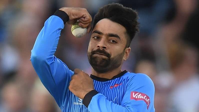 जागतिक टी-20 क्रिकेटमध्ये 719 गुणांसह तिसऱ्या क्रमाकांवरी खेळाडू म्हणजे राशिद खान (Rashid Khan). राशिद दरवर्षी सनरायजर्स हैद्राबाद संघातून महत्त्वाची भूमिका पार पाडतो. यंदाही तो हैद्राबद संघातून खेळणा आहे.