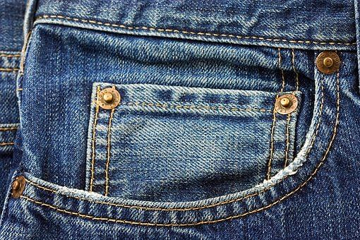why are small buttons on the pocket of jeans know the reason