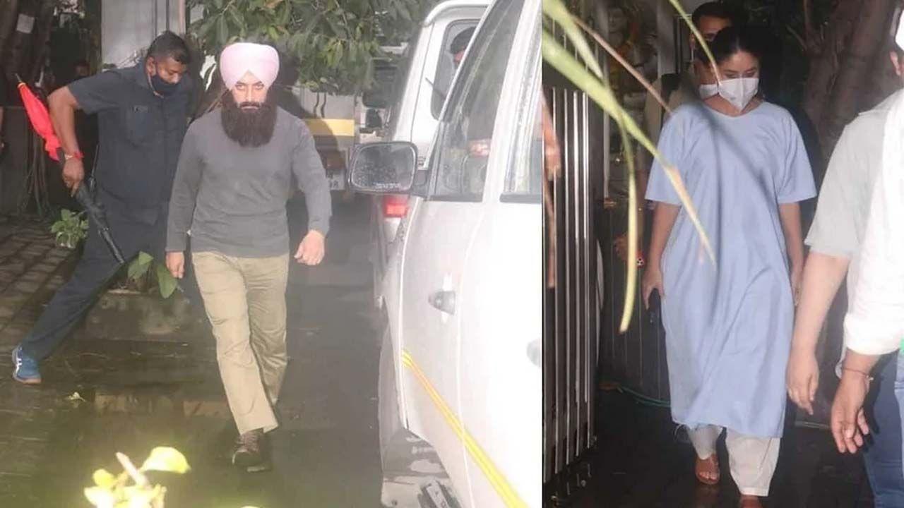 बॉलिवूड अभिनेता आमिर खान (Aamir Khan) आणि अभिनेत्री करीना कपूर खान (Kareena Kapoor-Khan) यांनी नुकतेच मुंबईत त्यांच्या 'लाल सिंह चड्ढा' या चित्रपटाच्या शूटिंगची जय्यत तयारी केली आहे. जिथे आता या जोडीचे फोटो नुकतेच काही वेळापूर्वी समोर आली आहेत.