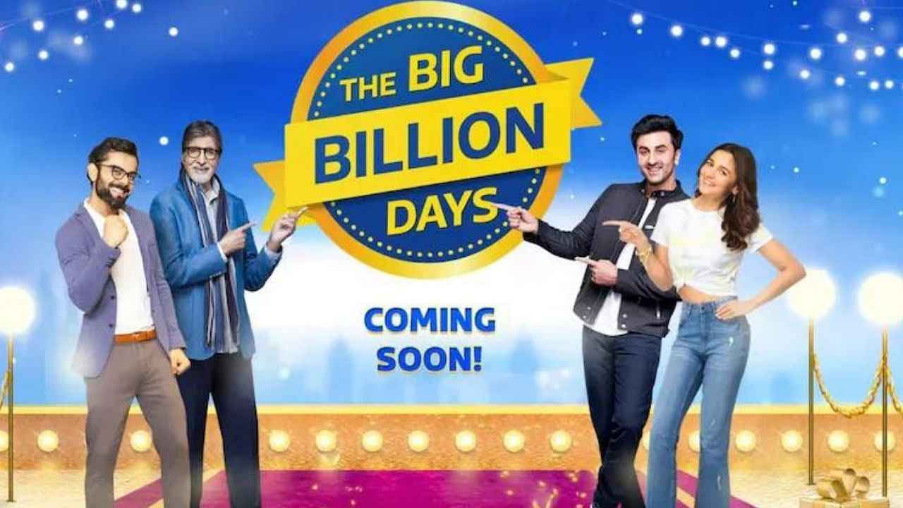 Starts Flipkart Big Billion Days Sale, Huge Discounts on 'These' Products, Know Everything