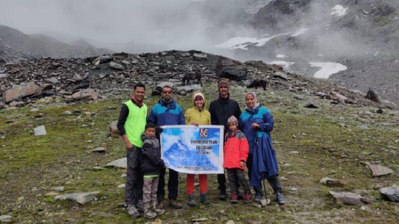 Maharashtra pune 8 years old Girl Dhruvi padwal Climb Himalaya friendship