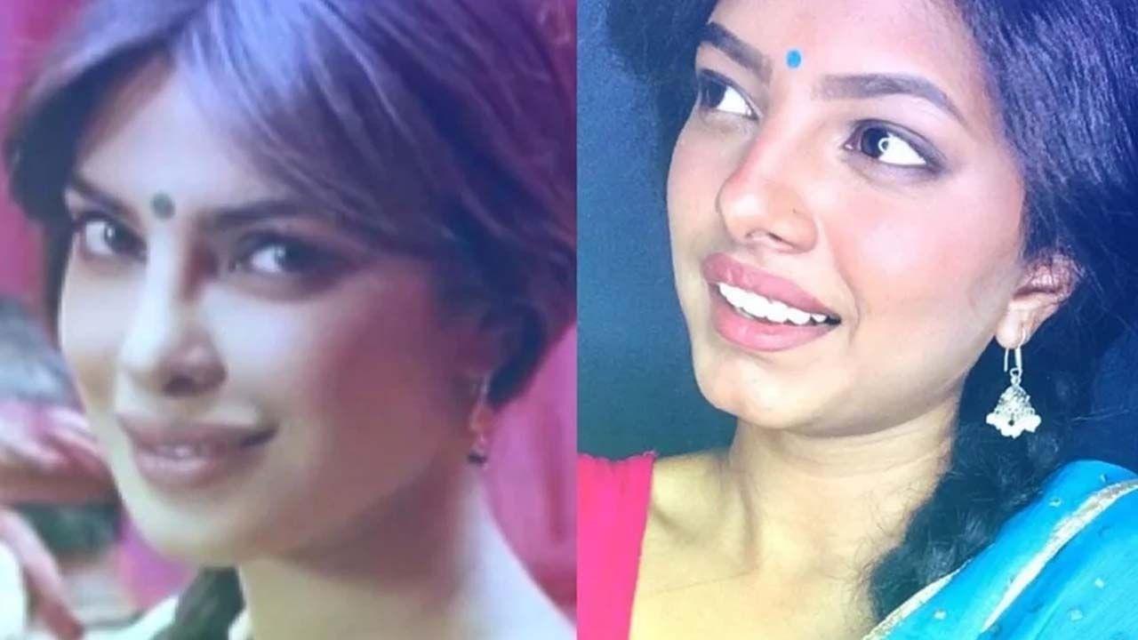 जर, प्रियांका चोप्रा तिचा हा लूक बघेल, तर कदाचित ती स्वतः देखील फसू शकते की ती कोणत्याही आरशासमोर तर उभी राहिली नाही ना....