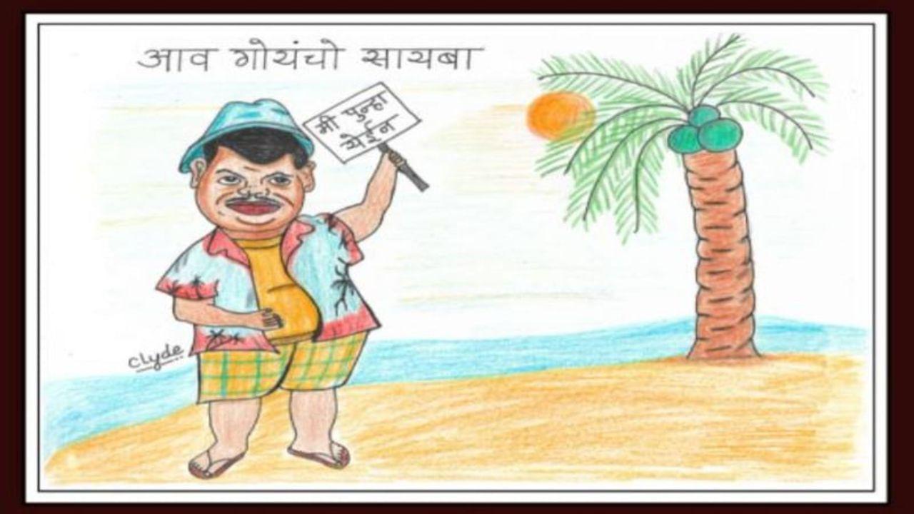 Devendra-Fadnavis-Cartoon