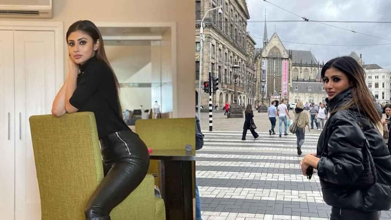 सध्या मौनी रॉय सुट्टी साजरी करण्यासाठी अॅमस्टरडॅमला गेली आहे. ती आम्सटरडॅमच्या सुट्टीचे फोटो शेअर करत आहे. आज मौनीने काळ्या ड्रेसमध्ये फोटो शेअर केले आहेत.