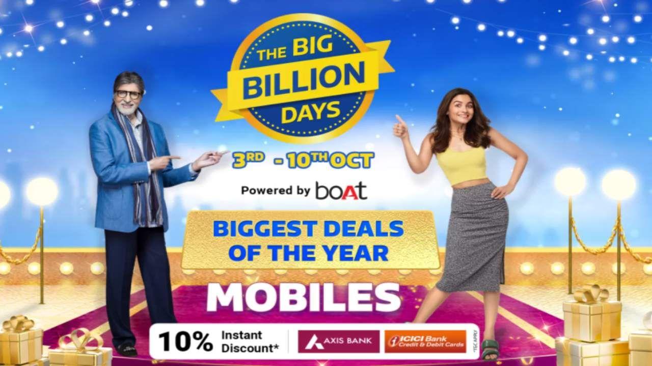 Flipkart Big Billion Days sale: Offers up to Rs 7000 on Realme, Vivo, Samsung and Iphone