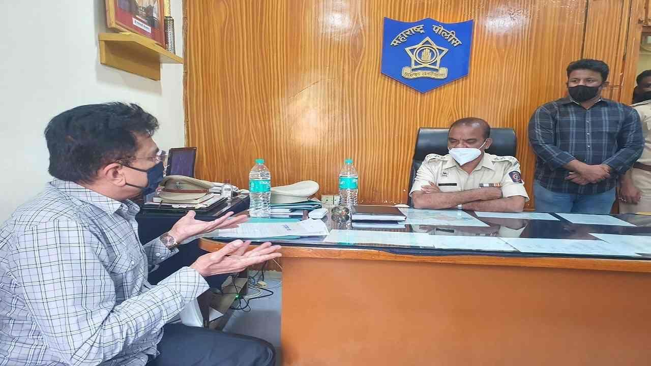 Kirit Somaiya files complaint against Hasan Mushrif at Murgud police Kolhapur