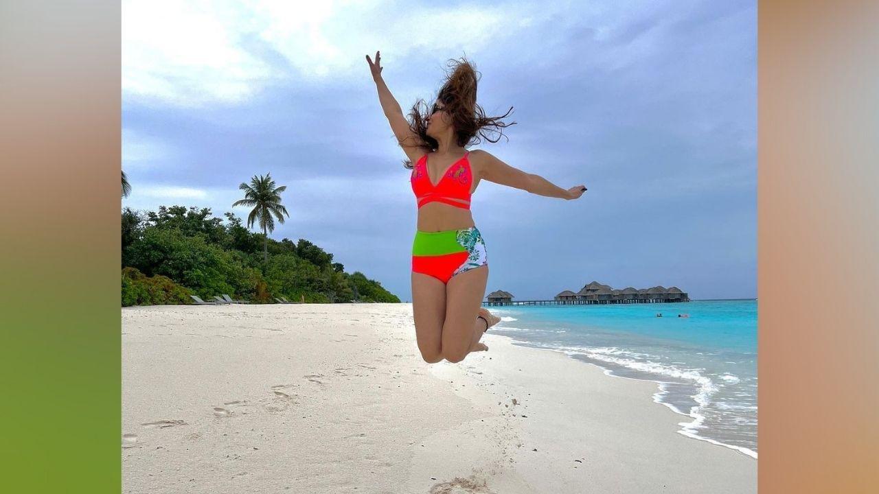 तिने आता हे फोटो इन्स्टाग्रामवर शेअर केले आहेत, तिने मालदीवच्या सुट्टीतील हे सुंदर फोटो शेअर केले आहेत.