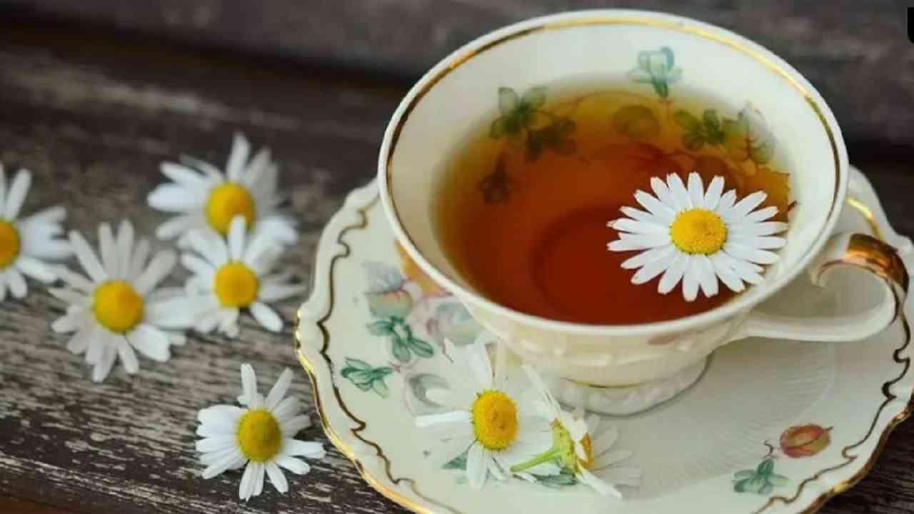 कॅमोमाइल चहामध्ये दाहक-विरोधी गुणधर्म असतात. ते मासिक पाळी दरम्यानच्या वेदना कमी करण्याचे काम करतात. एका अभ्यासानुसार, कॅमोमाइल चहाचे सेवन मासिक पाळीच्या वेदना कमी करण्यास मदत करते.
