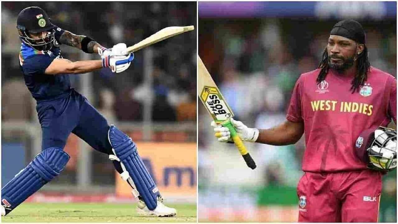 T20 वर्ल्ड कप (T20 World Cup) स्पर्धेत भारतीय संघ 24 ऑक्टोबर रोजी पाकिस्तानविरुद्धच्या सामन्याने आपल्या स्पर्धेची सुरुवात करेल. याच सामन्यात कर्णधार विराट कोहलीची (Virat Kohli) विश्वचषकातील धावांची शर्यंत सुरु होईल. वेस्ट इंडीजचा दिग्गज खेळाडू ख्रिस गेल (Chris Gayle) यावेळी कोहलीचा मोठा प्रतिस्पर्धी असेल. सध्यातरी गेल विराटपेक्षा T20 वर्ल्ड कपमध्ये धावांच्या शर्यतीत पुढे आहे.