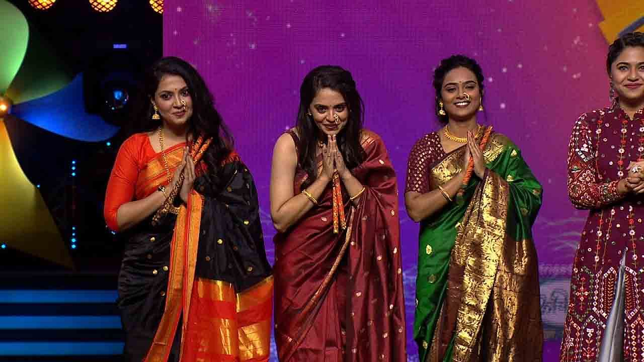 This week, keeping the spirit of Navratri alive, all the contestants will perform songs dedicated to the Goddess and the main heroines of Zee Marathi's beloved series will be ready on stage to appreciate her.