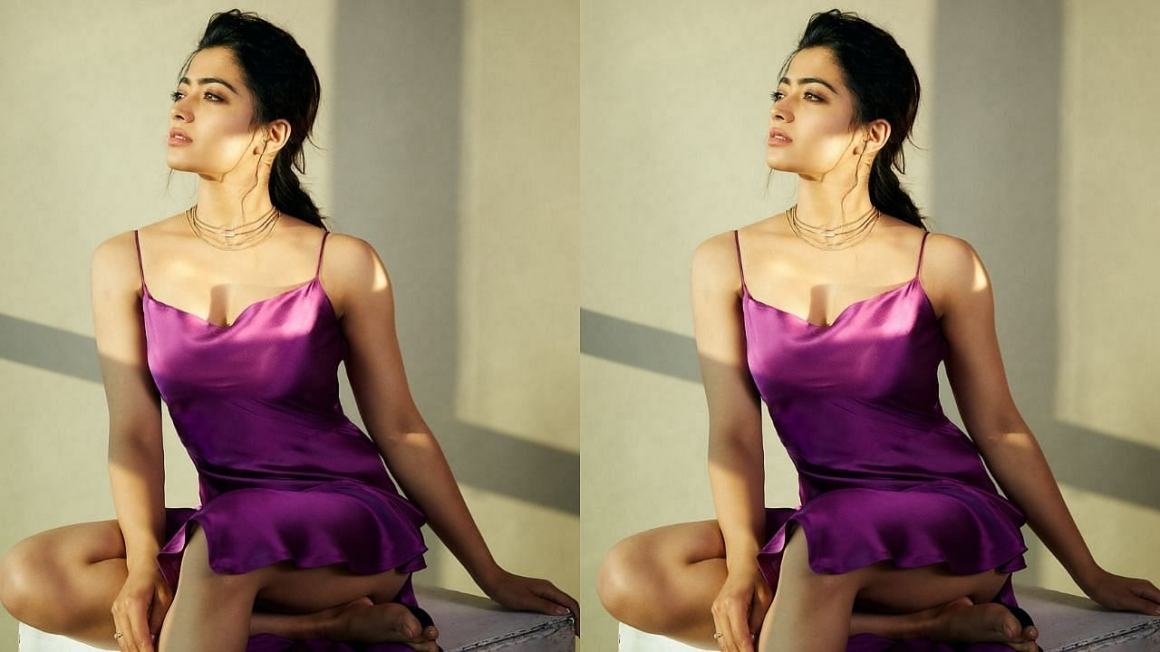 Popular among her fans by the name of National Crush, the very beautiful actress Rashmika from the South has millions of fans.  Today many big producers are queuing up to take her in their films, we will tell you that Rashmika takes 3 crores for a project.