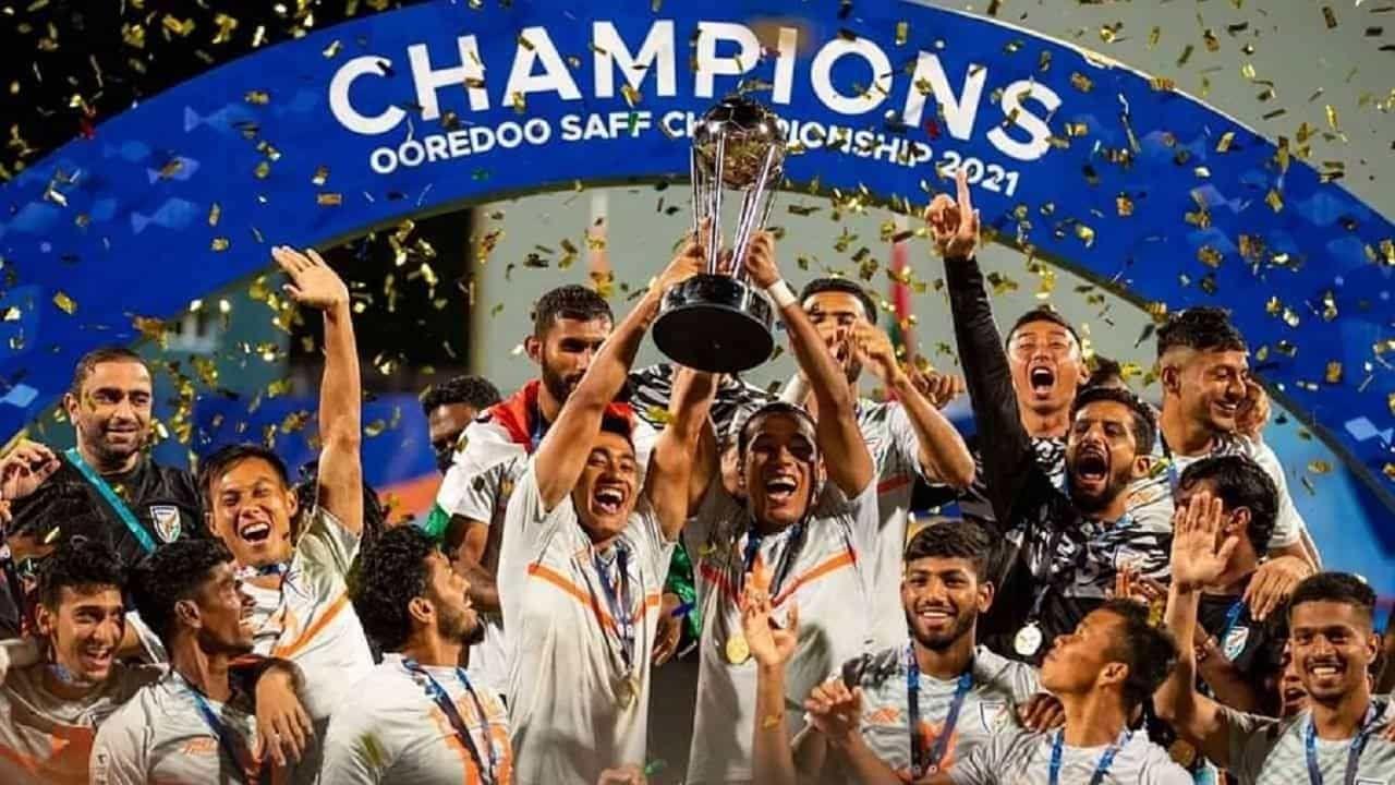 India won SAFF Championship