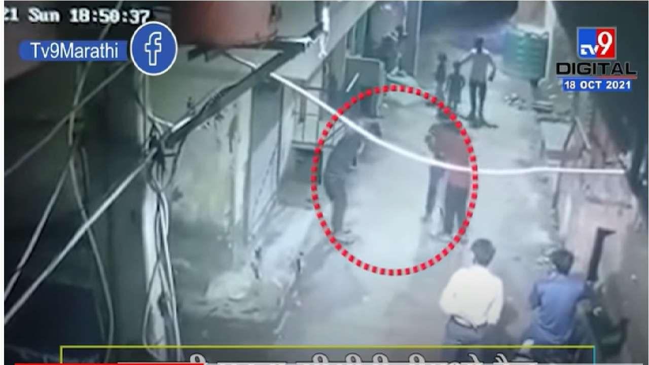 Delhi Murder CCTV