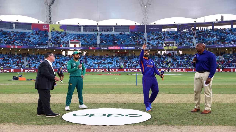 India vs pakistan toss update