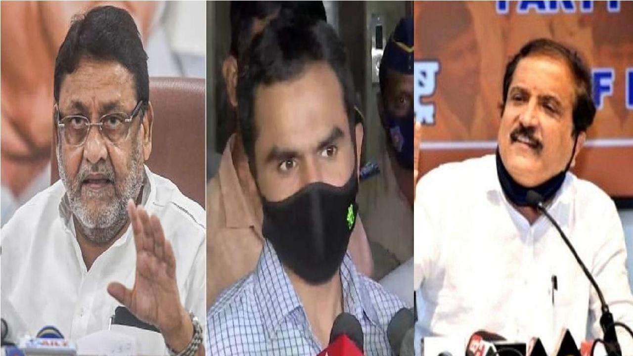Nawab malik, Sameer Wankhede and Atul Bhatkhalkar